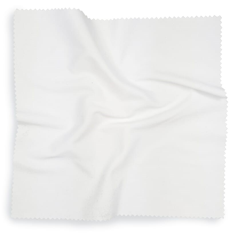 Brillendoekje Wit, 2020 cm